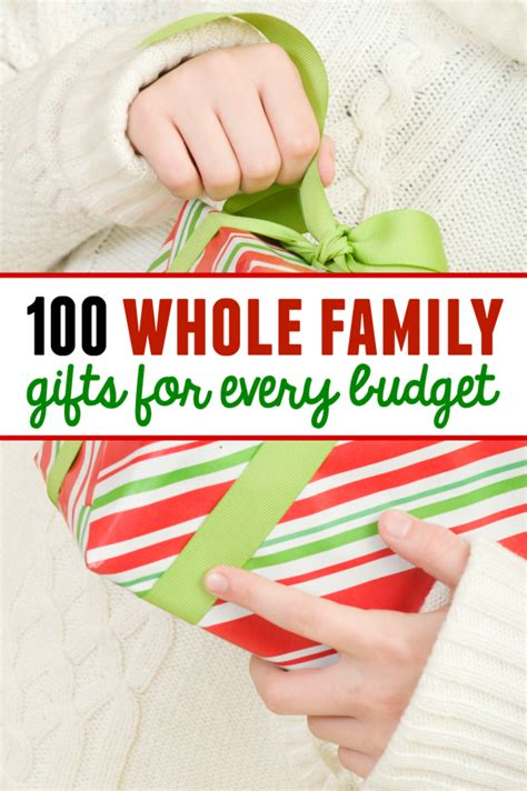 family gifts ideas 100 family gift ideas with something for every budget