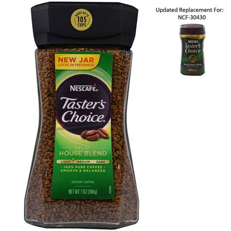 Nescafé, Taster's Choice, Instant Coffee, Decaf House Blend, 7 oz (198 g)   iHerb.com