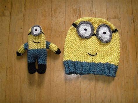 minion hat knitting pattern ravelry minion hat and pattern by beth a ferwerda