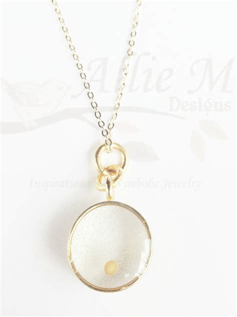 how to make mustard seed jewelry items similar to mustard seed charm gold necklace