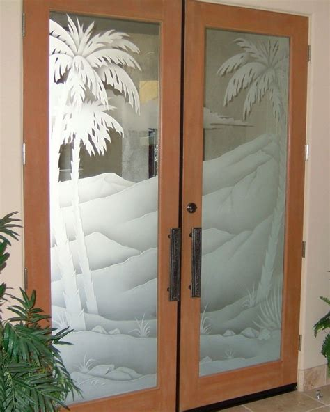 etched glass doors etched glass panels sans soucie glass