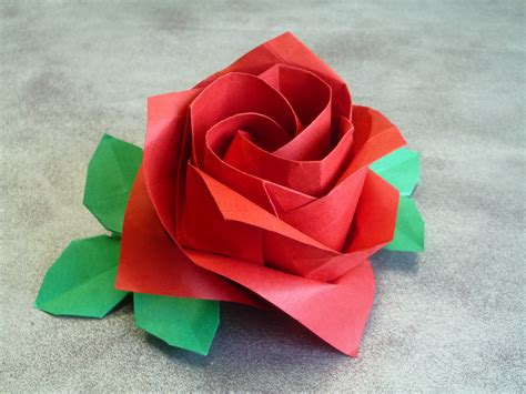 origami roses second auction by toshikazu kawasaki origami