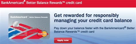 make money credit cards make money with the bankamericard better balance rewards