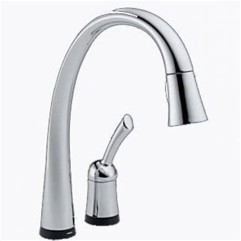 delta touch20 kitchen faucet delta pilar single handle pull kitchen faucet with touch20 chrome