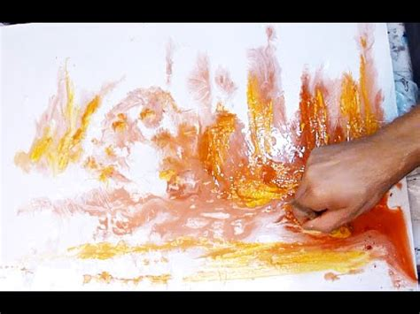 acrylic paint effects how to create a watercolor effect with acrylic paint for