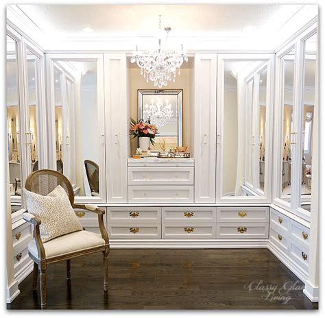 chandelier in closet diy custom closet dressing room glam living