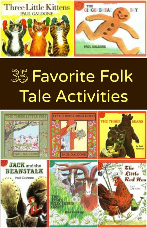 folktale picture books favorite folk tale activities fantastic learning