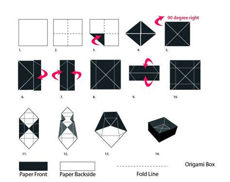 how to fold a origami box diy origami gift box paper craft
