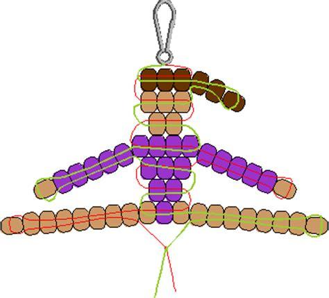 pony bead designs gymnast pony bead pattern