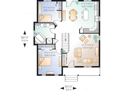 floor plans for 1 story homes small one story house simple one story house plan 1 story