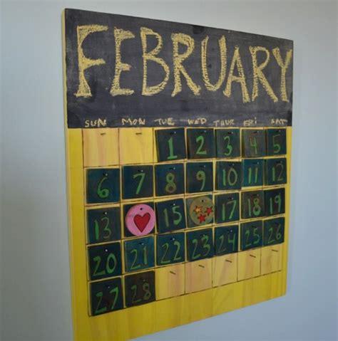 woodworking calendar wooden perpetual calendar project