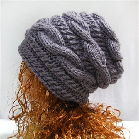 how to knit a beanie with needles slouchy hat knitting pattern slouchy knit hat pattern
