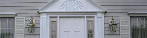 how to trim an exterior door exterior trim contractors windows and doors