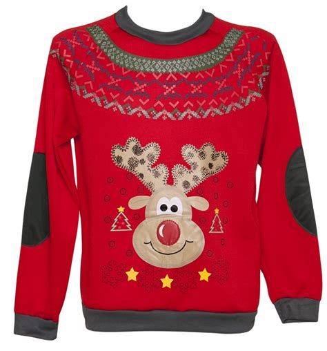 mens light up sweaters s led light up reindeer sweater