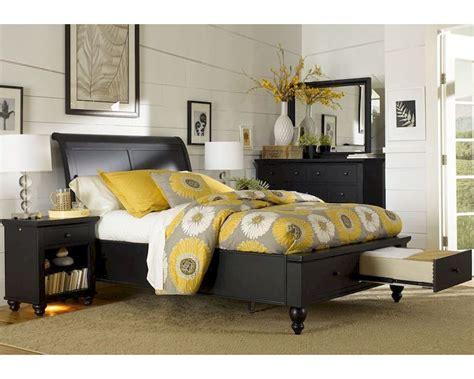 aspenhome storage bedroom cambridge in black asicb
