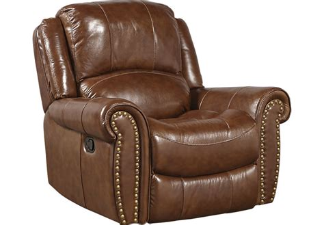 leather recliner chairs abruzzo brown leather glider recliner recliners brown