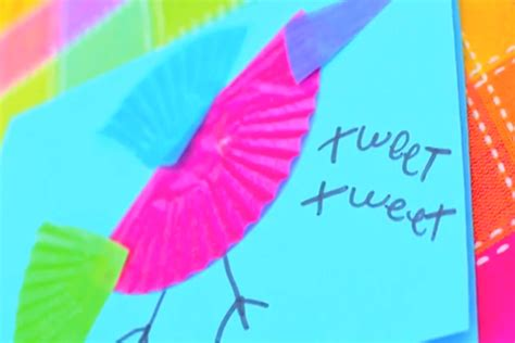 pbs crafts colorful bird cards crafts for pbs parents