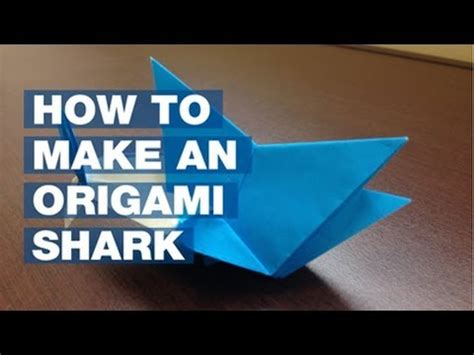 how to make a origami shark how to make an origami shark nsu edition