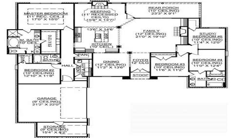 5 bedroom floor plans 1 story 1 story 5 bedroom house plans 1 5 story floor plans 4 bedroom one story house plans mexzhouse