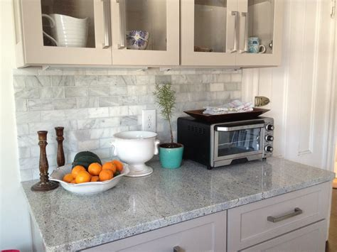 marble backsplash kitchen loft cottage the marble backsplash