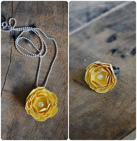 diy rings jewelry ring necklace tutorial the idea room