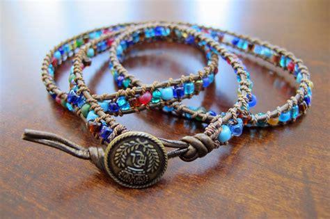 bead wrap bracelet just grand beaded leather wrap bracelet ala sundance