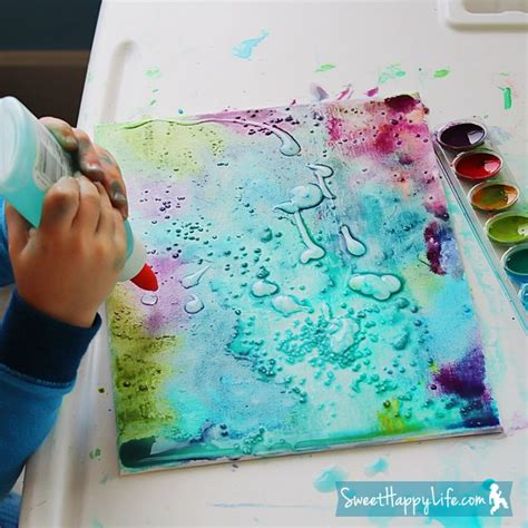 spray painting techniques pdf diy unbelievably beautiful painting with watercolors glue