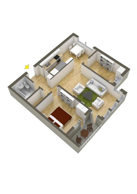 two bedroom house 40 more 2 bedroom home floor plans