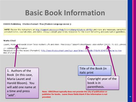 how to reference a picture from a book how to cite a book chapter essay from ebscohost literary