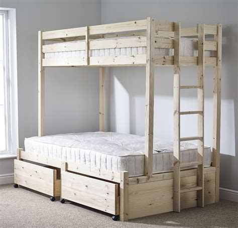 strictly bunk beds strictly beds duke 4ft 6 sleeper storage