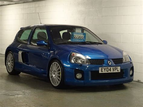 Renault Clio V6 For Sale by Used 2004 Renault Clio 3 0 V6 Sport 3dr For Sale In West