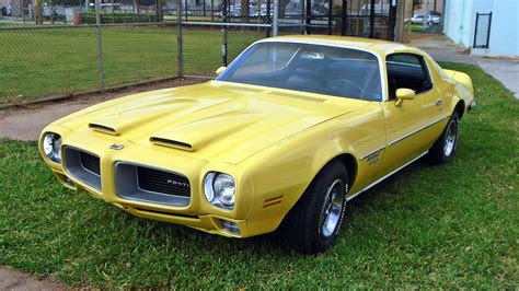 Pontiac Firebird 1970 For Sale by Yellow Gold 1970 Pontiac Firebird Formula 400
