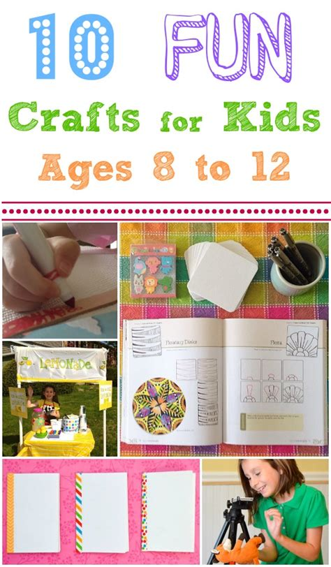 Summer Crafts For Ages 8 12