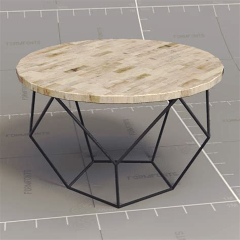 Origami Coffee Table 3d Model Formfonts 3d Models Textures