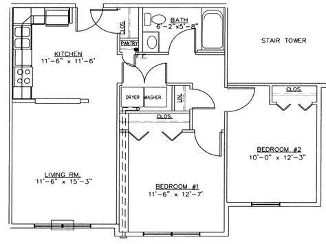simple 2 bedroom house floor plans 2 bedroom house simple plan 2 bedroom house floor plans