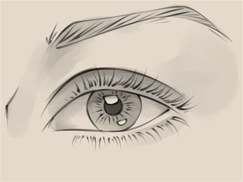 how to draw a eye how to draw a realistic eye 10 steps with pictures