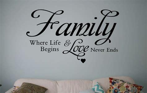 Butterfly Wall Murals family where life begins wall decal sticker wall art decal
