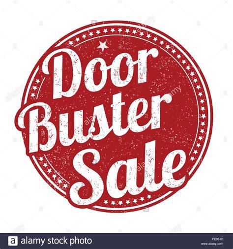 sle rubber st door buster royalty free vector doorbuster
