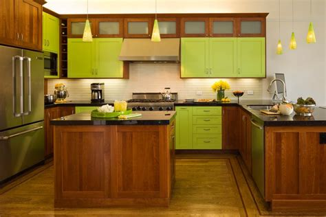 yellow and brown kitchen ideas green and yellow kitchen ideas with tile backsplash brown floor k c r