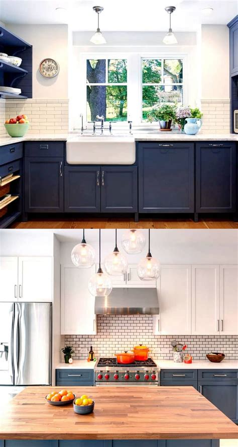 blue color kitchen cabinets 25 gorgeous paint colors for kitchen cabinets and beyond