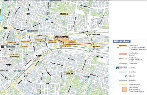 Radweg Englischer Garten München by Berg Am Laim Bf S Bahn Linien S2 S4 S6 Stadtbus 185