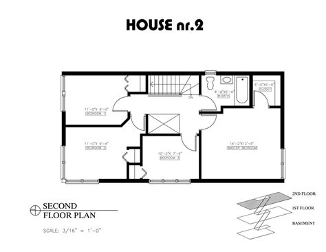 Two Bedroom Floor Plans House small house bedroom floor plans and 2 open plan
