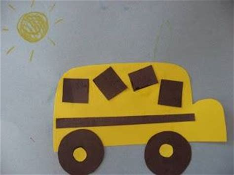 construction paper crafts for kindergarten preschool transportation crafts for kıds 3 171 funnycrafts