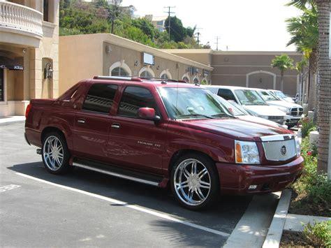 2008 Cadillac Escalade Truck by Burgundy Cadillac Escalade Ext Truck 2 Madwhips