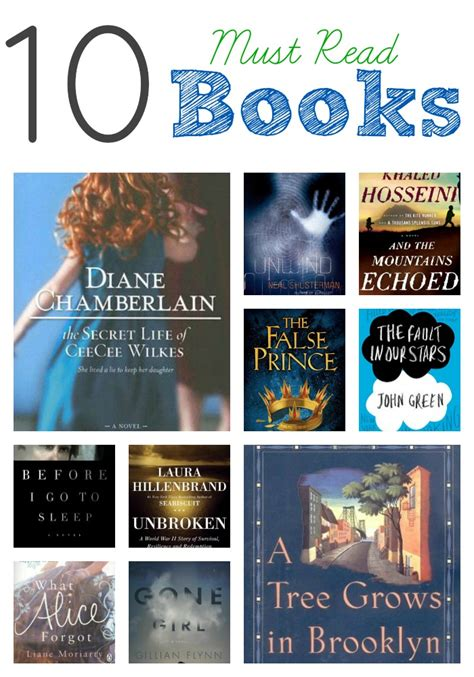 must read 10 must read books skip to my lou
