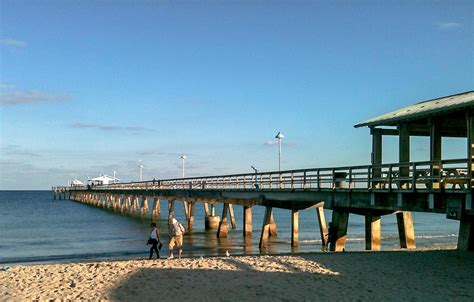 a by the sea lauderdale by the sea pier photograph by andrea oconnell