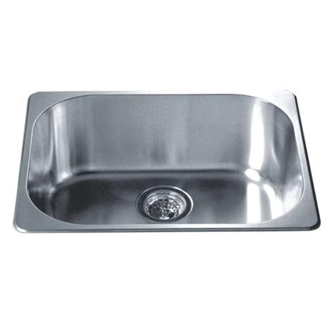 stainless steel kitchen sinks top mount kitchen sinks single drop in series stainless steel top