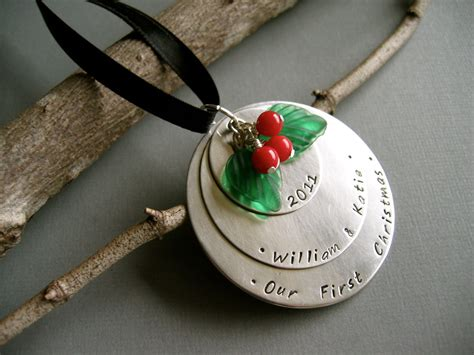 personalized silver ornaments silver ornament personalized names our