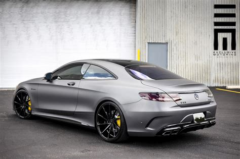Mercedes Paint by Mercedes S63 Amg Coupe With A Matte Gray Paint Cars