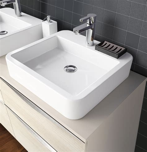 vasque 224 poser en c 233 ramique carr 233 e vasque 224 poser carr 233 e aquarine